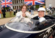 Goodwood 2012 Emerson Fittipaldi with Sir Stirling Moss